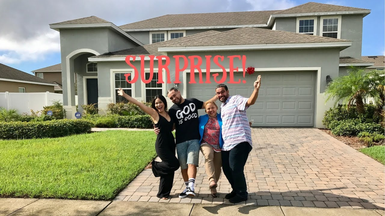 My Boyfriend Surprised His Parents With A New House Camilaainc Youtube