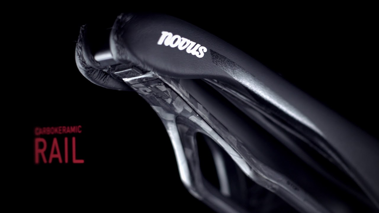 Black Selle Italia Novus Boost Kit Carbonio Superflow S3 Bicycle Saddle