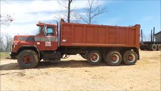 1989 Mack DM690S dump truck for sale at auction | bidding closes May 3, 2018