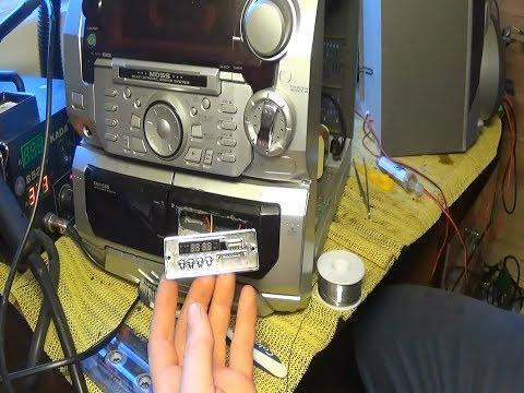USB,Bluetooth в Музыкальный центр!