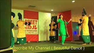 Jatt sikka ek rupiya da Punjabi girl dance