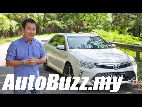 2015 Toyota Camry 2.5 Hybrid review - AutoBuzz.my