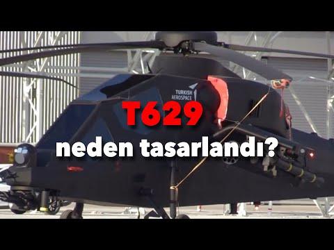 Neden T629 helikopteri geliştirildi? #tolgaözbek #tusaş #t629
