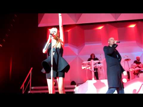 Front row live Electric Shock by The Human League HD Stereo