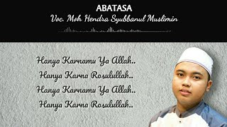 """NEW"" ABATASA - Moh. Hendra Syubbanul Muslimin 