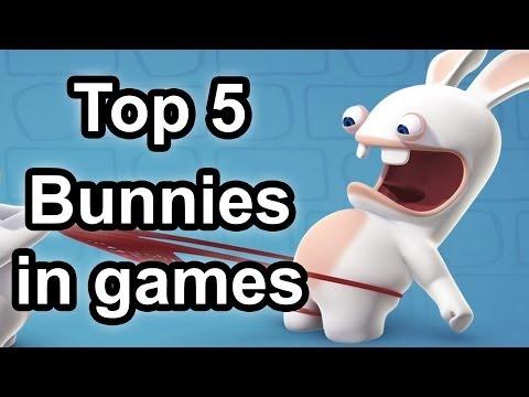 Top 5 - Bunnies in games