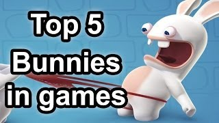 Top 5 - Bunnies In Games