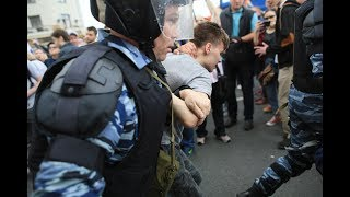 Russia: Peaceful Protesters Arrested, Beaten