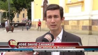 HABRÁ LEY SECA ESTE DOMINGO EN BUCARAMANGA