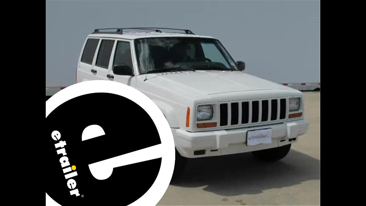install trailer hitch 1999 jeep cherokee 13084 etrailercom YouTube