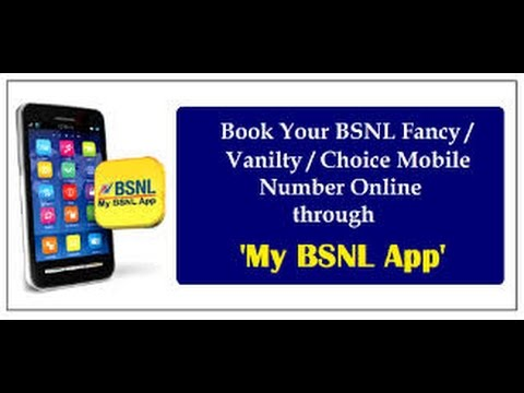 Bsnl vip number online booking