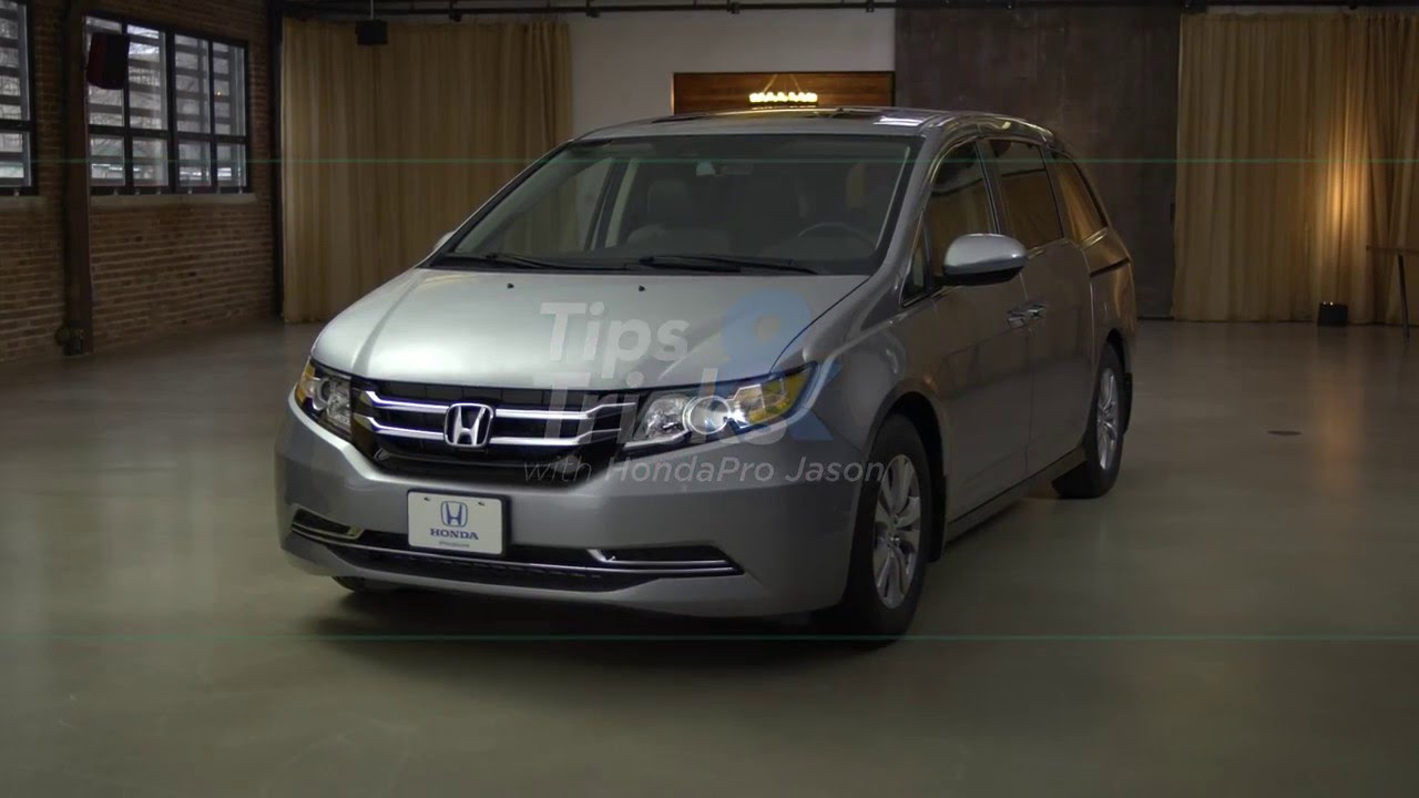The Honda Cool Box On The 2016 Odyssey Youtube