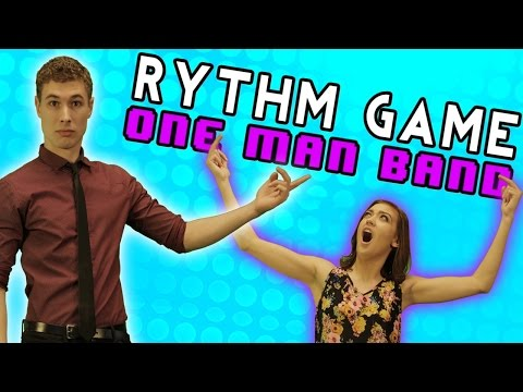 RHYTHM GAME ONE MAN BAND CHALLENGE - Attack Show Ep. 231