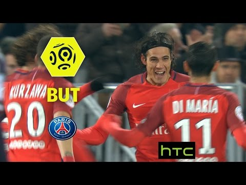 But Edinson CAVANI (6') / Girondins de Bordeaux - Paris Saint-Germain (0-3) -  / 2016-17