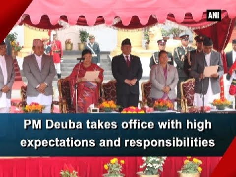 Nepal PM Deuba takes office with high expectations and responsibilities - Nepal News