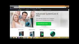 download advance system care 6 with key  100% working.