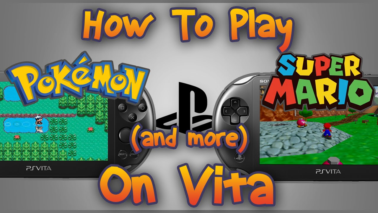 New Pokemon Games For Ps3 : How to play pokemon on vita with version emulators