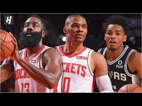San Antonio Spurs vs Houston Rockets - Full Game Highlights | October 16, 2019 NBA Preseason