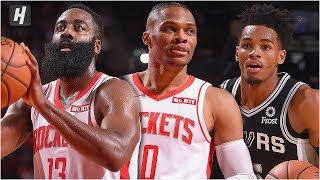 San Antonio Spurs vs Houston Rockets - Full Game Highlights | October 16, 2019 NBA Preseason Video