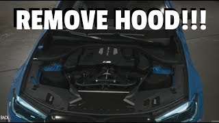 Need for Speed Payback: REMOVE HOOD FROM ANY CAR GLITCH!!!
