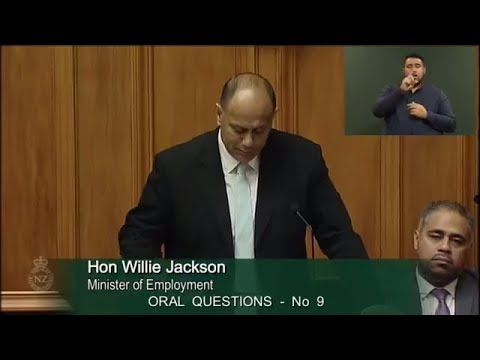 Question 9 - Hon Paula Bennett to the Minister of Employment