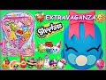 SHOPKINS GIANT Play Doh Surprise Egg and BACKPACK   Bubbles