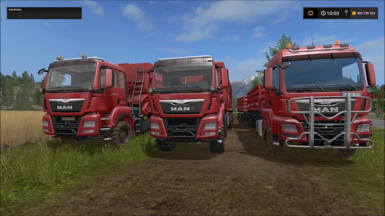 ls17 lkw mod test und fendt traktor landwirtschafts. Black Bedroom Furniture Sets. Home Design Ideas