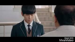 Hoya and  Kang Minah moment (HIYA MOVIE) so aweet