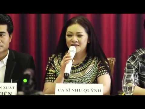 """Trực Tiếp ca sĩ Như Quỳnh """"Siêu Dễ Thương"""" tại Buổi họp báo giới thiệu Liveshow 26/1/2018 Hà Nội"""
