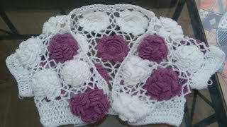 Big Rose Crochet Top Tutorial PART 1