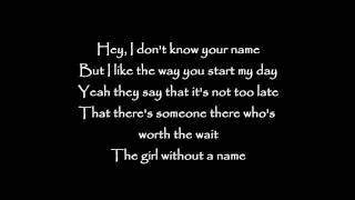 Long Story Short - Girl without a name Lyrics