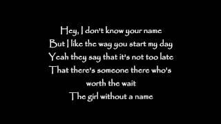 Long Story Short - Girl without a name Lyrics