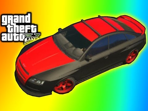 GTA 5 Online - Rare Car Obey Tailgater Location (Michael's Car) GTA V Tips & Tricks