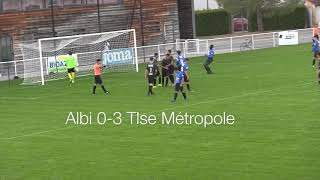 U18 R1 US Albi vs Toulouse Metropole Football Club oct 2019