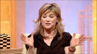 Anthea Turner [ITV1] – Leggy with stockings.