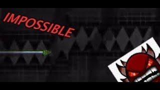 Top 10 impossible levels in Geometry Dash!