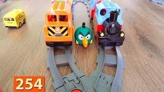 Скачать Поезда Мультики про Паровозики Лего Поезд Город машинок 254 серия Мультики для детей про игрушки