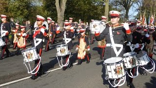 Coventry Remembrance Day Parade 2014