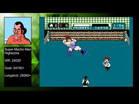 Mike Tyson's Punch-Out!! - Super Macho Man High Score - 24440