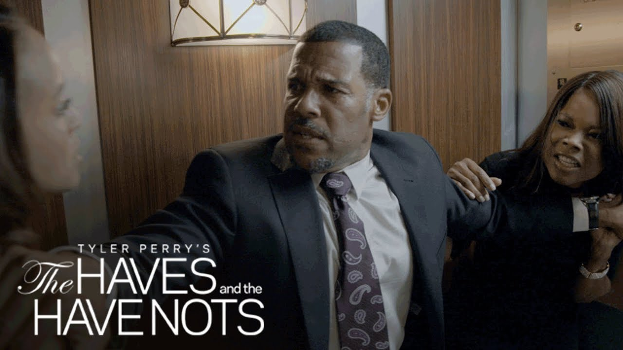 Download Veronica and Erica Throw Down in an Elevator Brawl   Tyler Perry's The Haves and the Have Nots   OWN