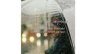 [INDO SUB] Heize ft Shin Yong Jae - You, Clouds, Rain Lyrics by sofia fitrani