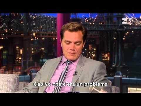 Michael Shannon @ David Letterman Show 10/06/13 SUB ITA
