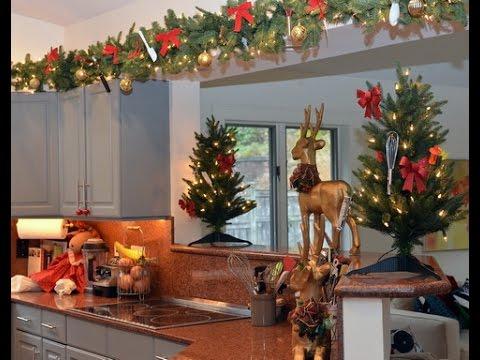 Como decorar una cocina en navidad youtube for Como decorar una cocina