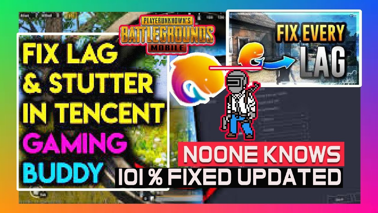 [Solved] 100% LAG FIX in Tencent Gaming Buddy PUBG Mobile EMULATOR || NOONE  SHOWN THIS || mR gAMER