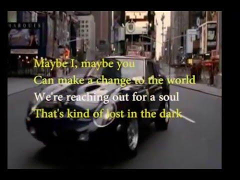 Maybe I maybe you karaoke (in progress)