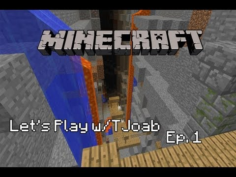 Minecraft Lets Play : Episode 1 : Coal FER DAYZ w/ TJoab