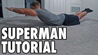 How to Perform Supermans - Bodyweight Exercise Tutorial