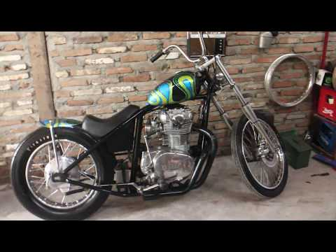 Repeat Yamaha xs650 chopper indonesia by Roadness TV
