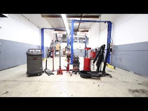 Top Ten-Equipment Needed to Open an Auto Repair Shop