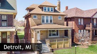 Tour of 7455 Churchill St   Detroit, MI Real Estate & Homes